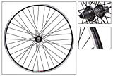 Wheel Master 26'' MTB Rear Wheel - Weinmann 519 Rim, 36H, 8/9-Spd, QR, Black MSW