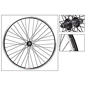 "Wheel Master 26"" MTB Rear Wheel Weinmann 519 Rim, 36H, 8/9 Spd, QR, Black MSW"