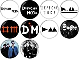 Depeche Mode Pinback Buttons Badges/Pin 1 Inch (25mm) Set of 10 New
