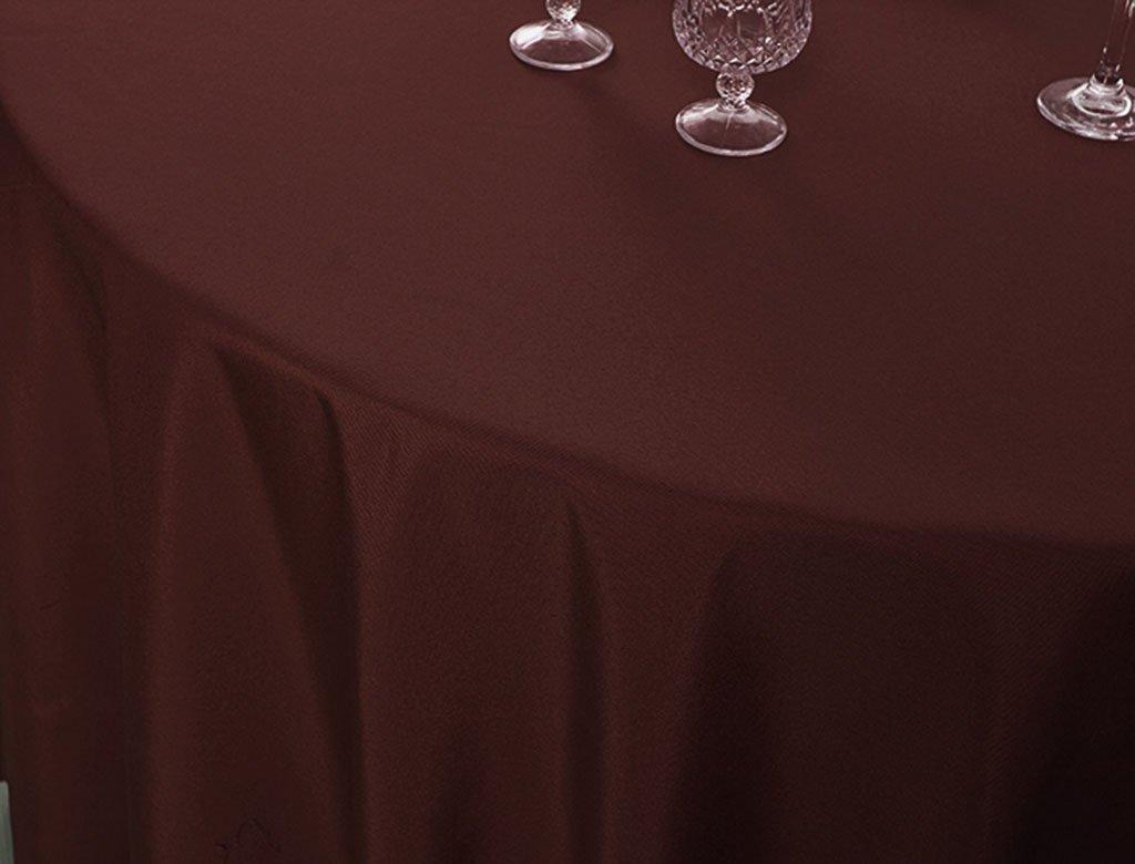 William 337 Runde Tischdecke - Personality Modern Hotel Restaurant Balkon, Garten oder Camping Tischdecke - Drop Resistant, leicht zu reinigen (Farbe   E, größe   Round- 260cm) B07CQKVBLS Tischdecken Qualität     | Trendy