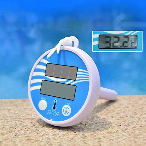 Shock Resistant for Swimming Pools Floating Swimming Pool Thermometer XProject 2 Pcs Solar Swimming Pool Thermometer