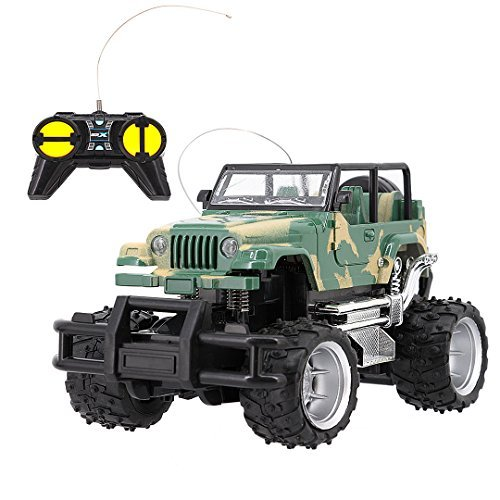 La moriposa 1:24 Electric RC Car Remote Control Car Suv Off-Road Vehicle Camouflage Vehicle Sport Racing Hobby Grade for Kids Adults(Green) [並行輸入品] B07J6N8528