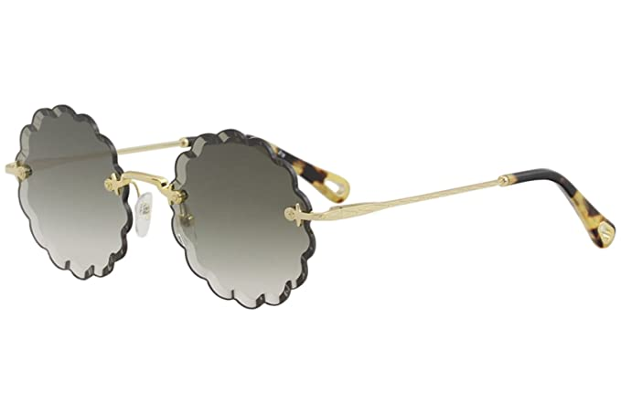 Chloé Gafas de Sol ROSIE CE142S GOLD/OLIVE GREEN GREY SHADED ...