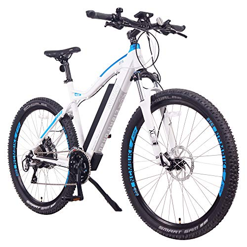 NCM Moscow Plus Electric Mountain Bike 768 Wh 48V/16AH Matte White 27.5""