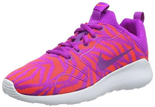 Nike W Kaishi 2.0 Kjcrd Print, Zapatillas de Deporte para Mujer Morado (Hypr Violet / Hypr Vlt-Ttl Crmsn)