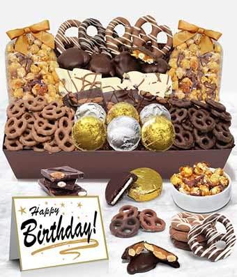 Regalos – Feliz cumpleaños – Bandeja de aperitivos con ...