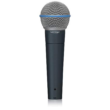 Amazon.com: Behringer - Micrófono dinámico (BA 85 A ...