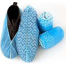 Medical Grade Disposable Boot and Shoe Covers (Large)