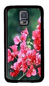cute Samsung Galaxy S5 cases Triangle Plum PC Black Custom Samsung Galaxy S5 Case Cover