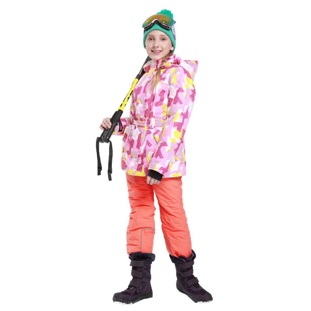 Yzibei Tuta da Sci Antivento Impermeabile Impermeabile Impermeabile per Bambini Inverno Bambini Caldi Giacca Antivento Impermeabile con Cappuccio da Snowsuit con Pantaloni per Le Ragazze dei RagazziB07KVR6R8X122 128 Aarancia | Una Buona Reputazione Nel Mondo  | Acquista online   3a9a3c