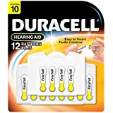 Duracell EasyTab Hearing Aid Batteries Size 10 (24 batteries)