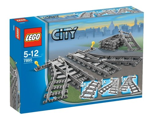 LEGO City 7895 - Weichen Zugspielzeug Zubehör