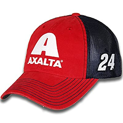 William Byron #24 Axalta Nascar 2018 Sponsor Trucker Mesh Hat/Cap by Checkered Flag Sports
