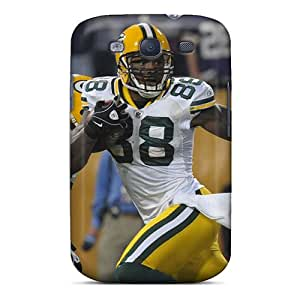 Galaxy S3 Cases Covers - Slim Fit Protector Shock Absorbent Cases (green Bay Packers)