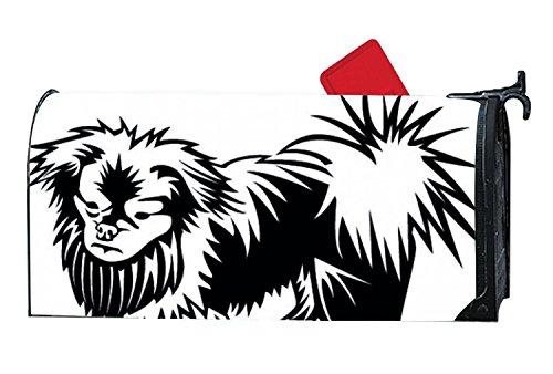 KSLIDS Unique Mailbox Makover Cover Pekingese Dog Pet Clip Art Mailbox Makeover Garden,Yard,Outdoor Magnetic (Pet Clipart)