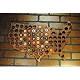 USA Beer cap map country outline