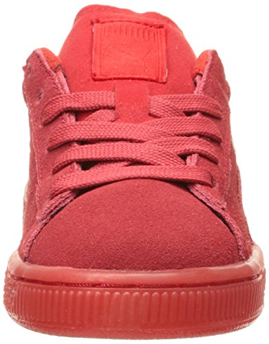 High Risk White Sneaker Kids' Suede Red Jr Puma wCaZvqw