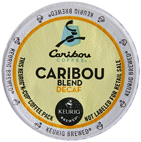 Caribou Coffee Caribou Decaf Gradate, K-Cups for Keurig Brewers, 96-Count