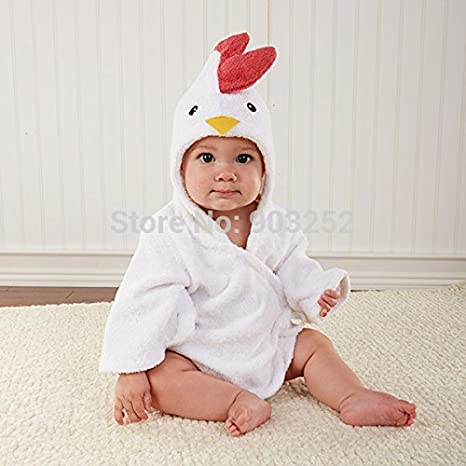 946f8660ff Amazon.com   Hooded Animal Modeling Baby Bathrobe cartoon Baby Spa  Towel character Kids Bath Robe infant Beach Towels   Everything Else