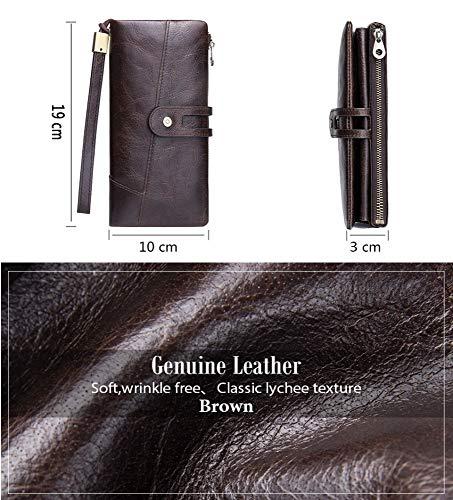 Polso Ed Vacchetta Donna centimetro Di Con Pelle Casual rosso In Marrone Xwh Cinturino Da Clutch Europea Americana fO441U