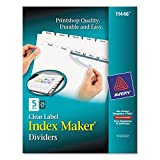 AVE11446 - Avery Index Maker Clear Label Divider
