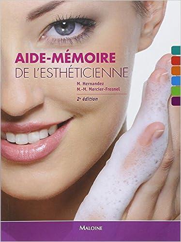 Aide-mémoire de lesthéticienne