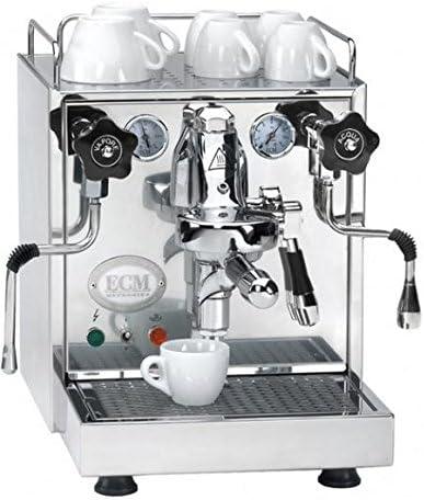ECM 698 2044 Mechanika IV Espressomaschine mit Wassertank Edelstahl poliert
