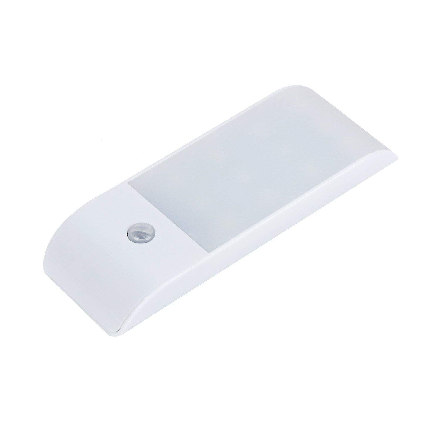Motion Sensor Light, Wardrobe Light,Cupboard LED Lamp, USB Rechargeable Cabinet Lights Lamps 12 LEDs Removable Magnet Stick-On Anywhere/Closet/Stairs/Storage Room Under Counter Kitchen Shed Garage