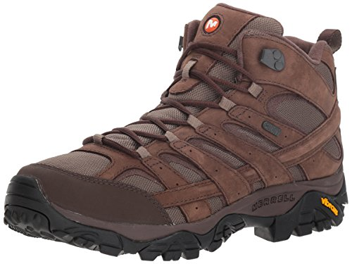 Merrell Men's Moab 2 Smooth Mid Waterproof Hiking Boot