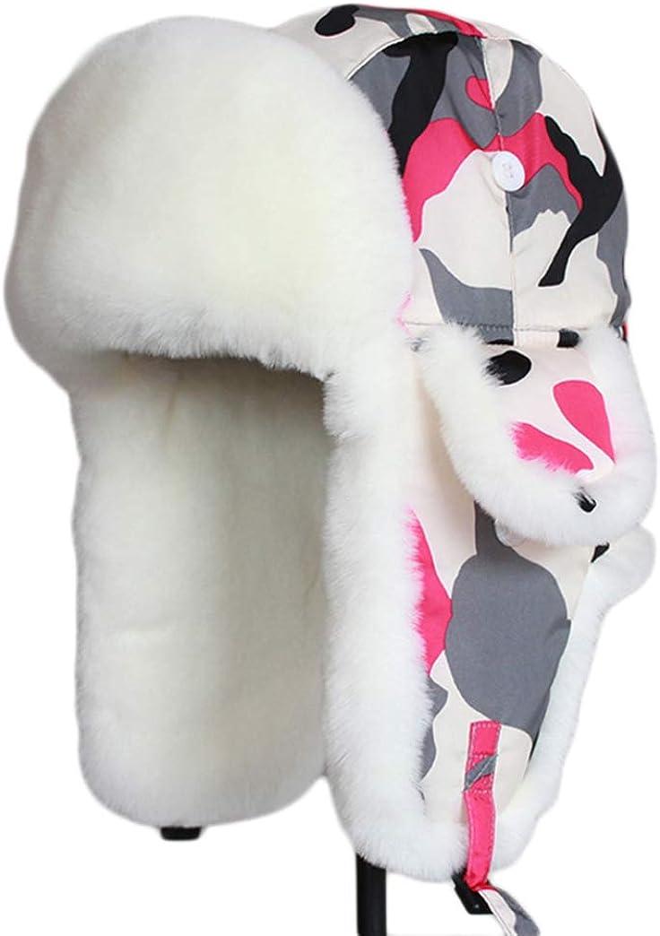 Women Hats With Ears Winter...
