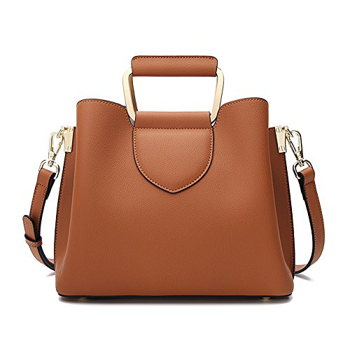 Satchel Summer Color Bag And Female Single Colored Candy Shoulder Guangming77 Handbag Spring Caramel C0Agxqwnf