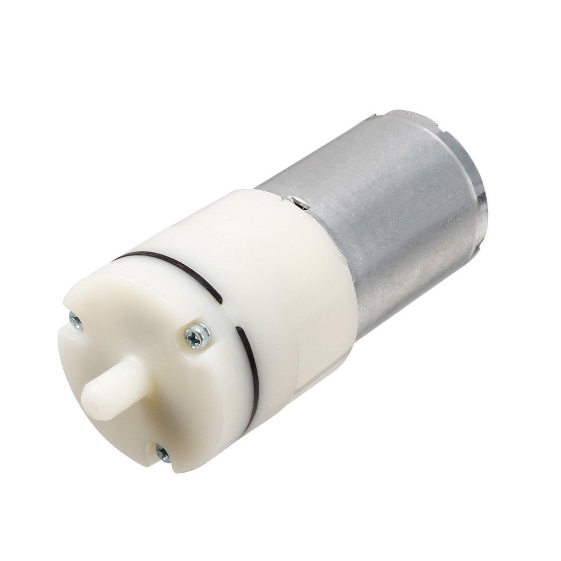 Sourcingmap - Motore della pompa mini aria di cc 6v acquario ossigeno circolare in metallo a14032100ux0296