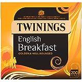 Twinings English Breakfast 200 Tea Bags (Pack of 3, total 600 Tea bags)
