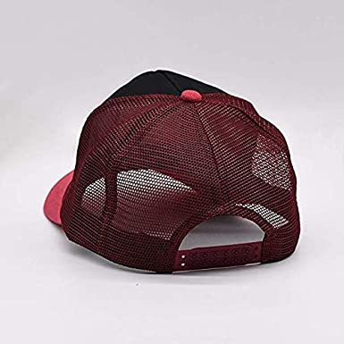 Skull Art Mesh Caps Adjustable Unisex Snapback Trucker Cap
