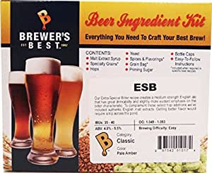 Brewer's Best ESB Beer Ingredient Kit