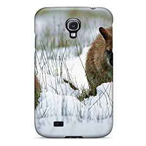 New Wallaby With Joey In Snow Tasmania Tpu Skin Case Compatible With Galaxy S4