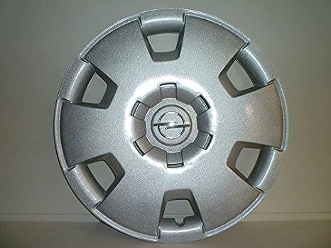 Juego de Tapacubos 4 Tapacubos Diseño Opel Zafira Desde 2006 r 16 () Logo Cromado: Amazon.es: Coche y moto