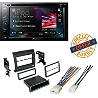 Pioneer AVH-290BT Multimedia DVD Receiver with 6.2 WVGA Display and TOYOTA TACOMA 2005 - 2011 CAR STEREO RECEIVER RADIO DASH INSTALLATION MOUNTING KIT