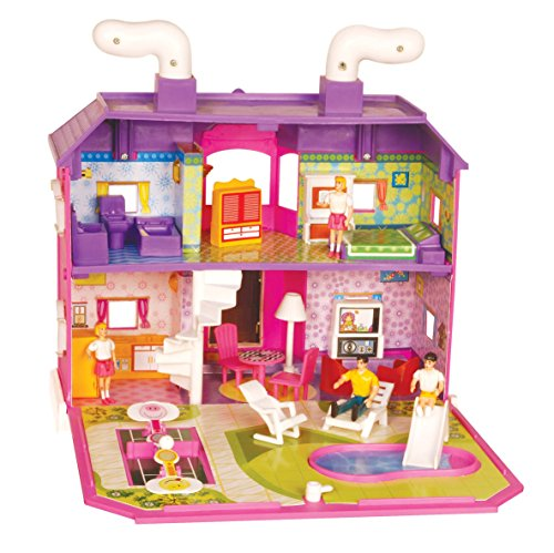 Toyzone My Family Doll House Multi Color