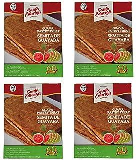 SANTA EDUVIGIS Pan Dulce Semita de Guava, 396 gr. - 4 Pack