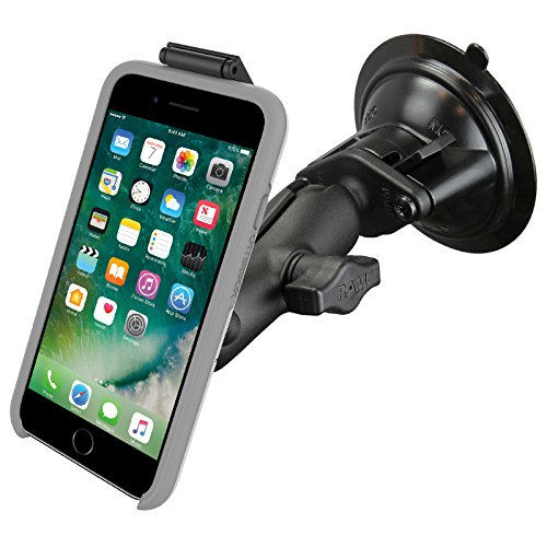 RAM-B-166-OT2U RAM Twist-Lock Suction Cup Mount compatible with OtterBox uniVERSE iPhone Cases