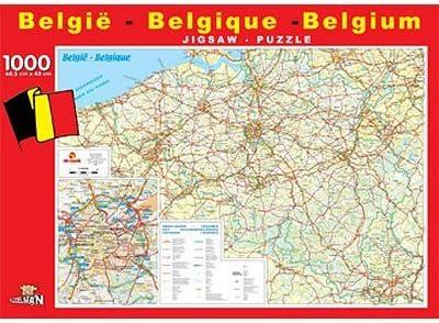 Carte Belgique Jeux.Puzzleman 1000 Pieces La Carte De La Belgique Amazon Fr
