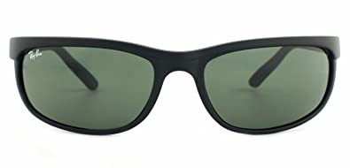 d4cd0c5686 Image Unavailable. Image not available for. Color: RAY BAN 2027 RB2027  W1847 62mm Predator 2 matte black with Green ...