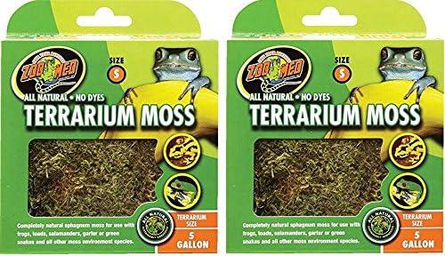 Terrarium Moss [Set of 2] Size: 5 Gallons