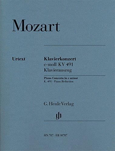 Mozart: Piano Concerto No. 24 in C Minor, K. 491 (Solo Part with Piano ()