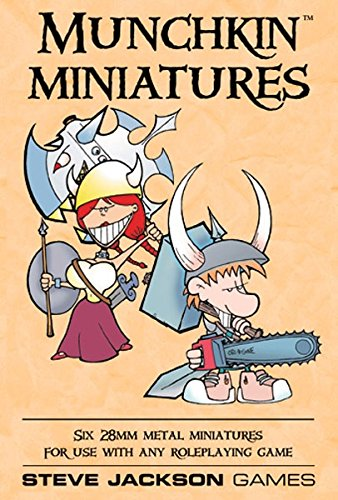 Munchkin Miniatures: Six 28Mm Metal Miniatures for Use With Any Roleplaying - Munchkin Miniatures