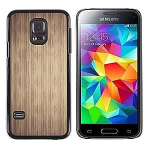 TopCaseStore / la caja del caucho duro de la cubierta de protección de la piel - Texture Stripes - Samsung Galaxy S5 Mini, SM-G800, NOT S5 REGULAR!
