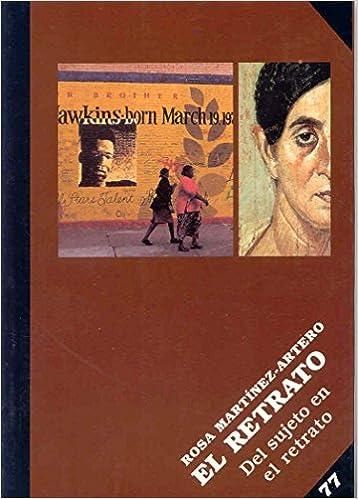 Retrato, el. del sujeto en el retrato: Amazon.es: Rosa Martinez-Artero: Libros