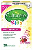 Culturelle Kids Chewables Daily Probiotic Formula, One Per Day Dietary Supplement, Contains 100% Naturally Sourced Lactobacillus GG -The Most Clinically Studied Probiotic†, 30 Count(Package may vary)
