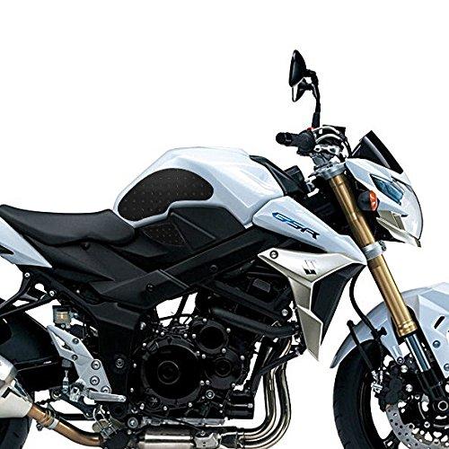 Protezione laterale serbatoio Suzuki GSR 750 11-16 Motea Grip SP nero